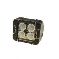 Фара светодиодная NANOLED 40w 4LED CREE X-ML широкий луч 116*100*93мм