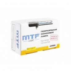 MTF Лампа ксеноновая НВ4 4300 К