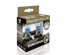 Автолампа H11 12V 55W PGJ19-2 +130%Megalight Ultra TUNGSRAM (комплект 2шт.)