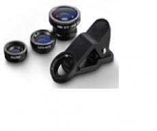 Комплект объективов для телефона 3шт, на прищепке