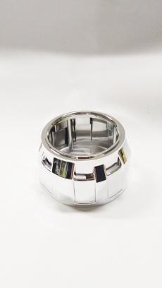 Маска для линз 2,5 дюйма БЕЗ АГ тип Z-001 silver