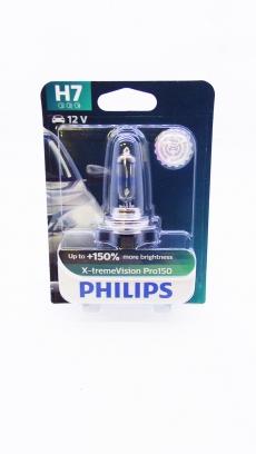 12972XVPB1 Автолампа 12V H7 PX26d 55W (блистер 1шт) X-treme Vision Pro150 Philips
