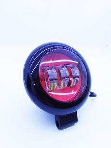 Светодиодная фара 30W (1шт.) круглая RED HPGZD037-30W-4