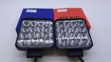 Дневные ходовые огни 48w (mini) ФCO синий крассный/белый 2шт комплект