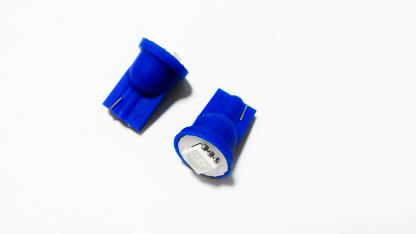 T10-1smd (12) Лампа светодиодная 12V W5W W2.1*9.5d 1-SMD Синяя