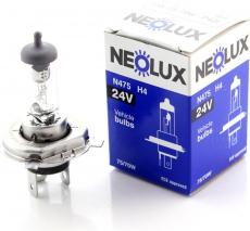 N475 Автолампа 24v H4 75/70W P43t NEOLUX