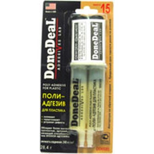 6580 DD 15-минутный полиадгезив для пластика (цвет: бежевый) POLYADHESIVE FOR PLASTIC
