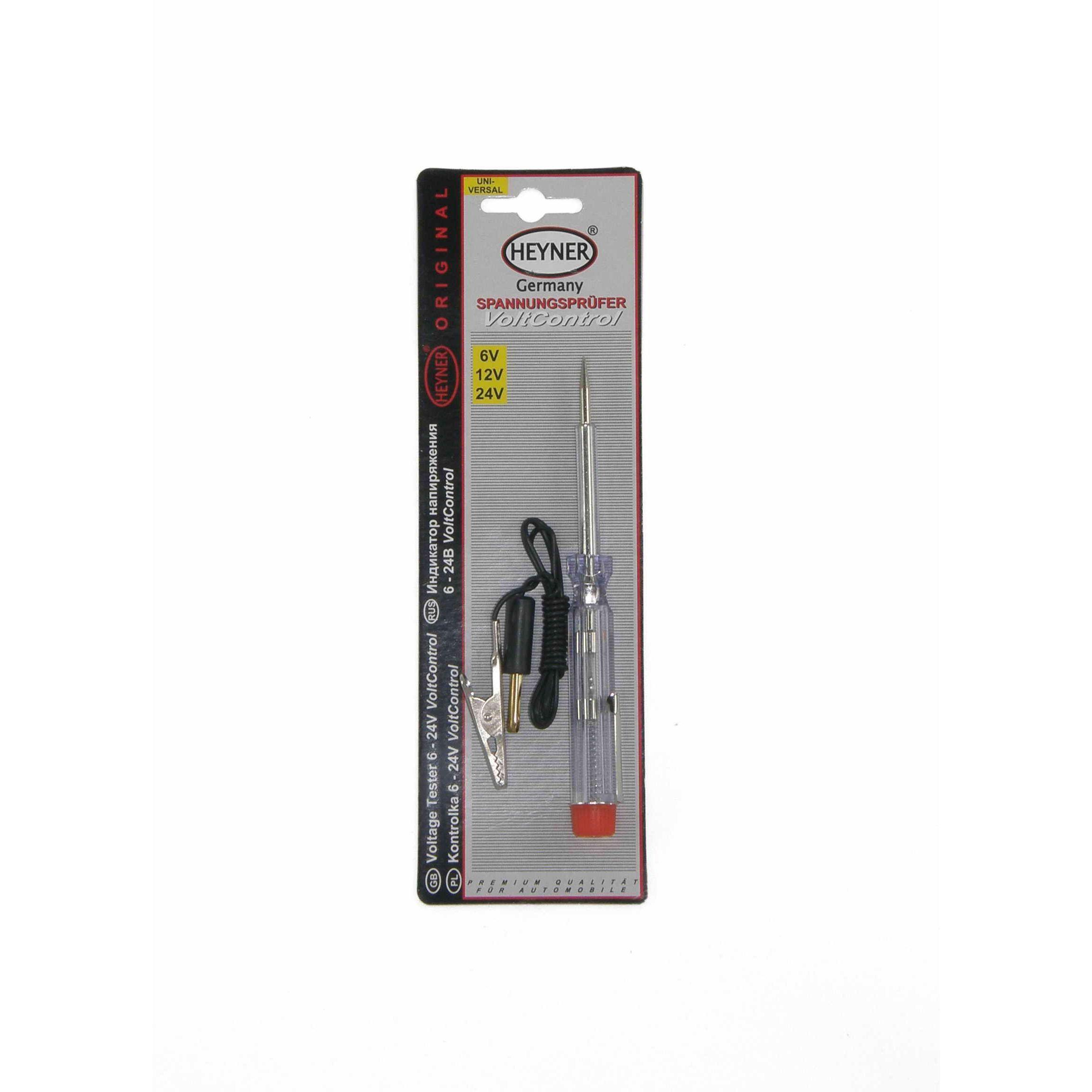 Отвертка с индикатором напряжения 6-24 V 566 100