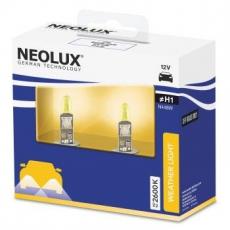 N448W-2SCB Автолампа H1 55W 12V P14.5S желтые 2600К 1550люмен (2 шт) Neolux