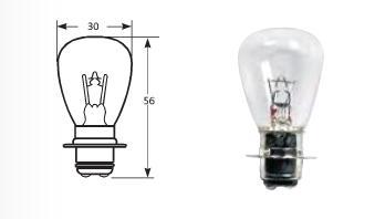 Мотолампа 6V 35/35W (3131)