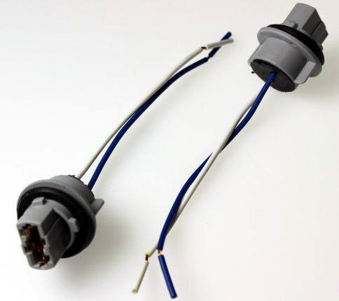 902641 Патрон под лампу W21W (T20 1кон) с проводами пластик TM Nord YADA