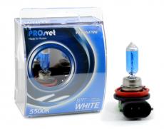 Лампа накаливания электрическая галогенная H11 24v70w PGJ19-2, SUPERWHITE МОДЕЛЬ H11 (PROSVET)