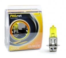 Лампа накаливания электрическая галогенная H3 24v70w PK22s, YELLOW МОДЕЛЬ H3 (PROSVET)