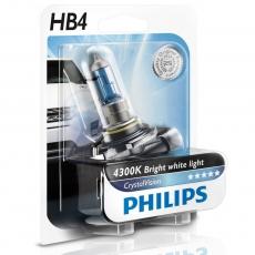 Автолампа 12V HB4 P22d 55w (блистер 1шт.) Crystal Vision Philips 9006 CV-01B(6)