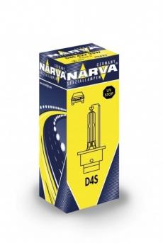 84042 Лампа ксеноновая D4S 42V-35W (P32d-5) (Narva)