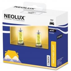 N499W-2SCB Автолампа H7 55W 12V PX26d желтые 2600К 1550люмен (2 шт) Neolux