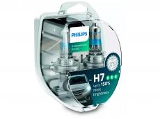12972XVPS2 Автолампа 12V H7 PX26d 55W (комплект 2шт) X-treme Vision Pro150 Philips