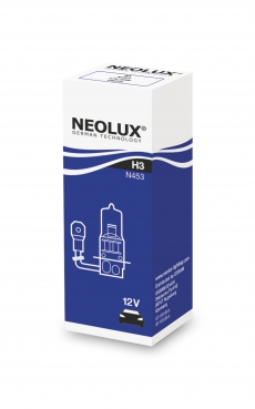 N453 Автолампа H3 55W 12V PK22S Neolux