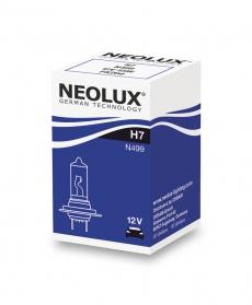 N499 Автолампа H7 55W 12V PX26D neolux