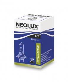 N499LL-SCB Автолампа H7 55W 12V PX26D увелич.срок службы (2 шт) Neolux