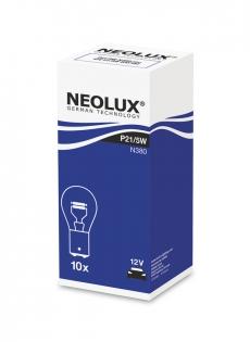 N380 Автолампа 12V P21/5W BAY15d (двухконт.) Neolux