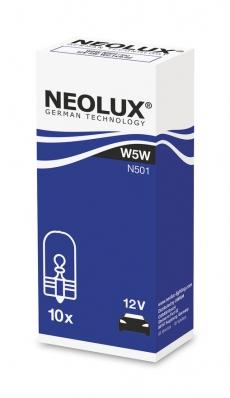 N501 Автолампа 12V W5W W2.1X9.5d (безцокольная) Neolux