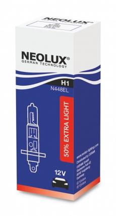 N448EL_SCB Автолампа H1 55W 12V P14.5S +50% яркости (2 шт) Neolux