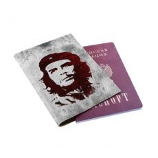 Автообложка с паспортом (кожа) ВДОПКЗ Че Гевара