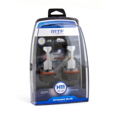 MLH07K5 Комплект светодиодных ламп H8/11/16 серия DYNAMIC BLUE LED 5500K MTF Гарантия 1 год.